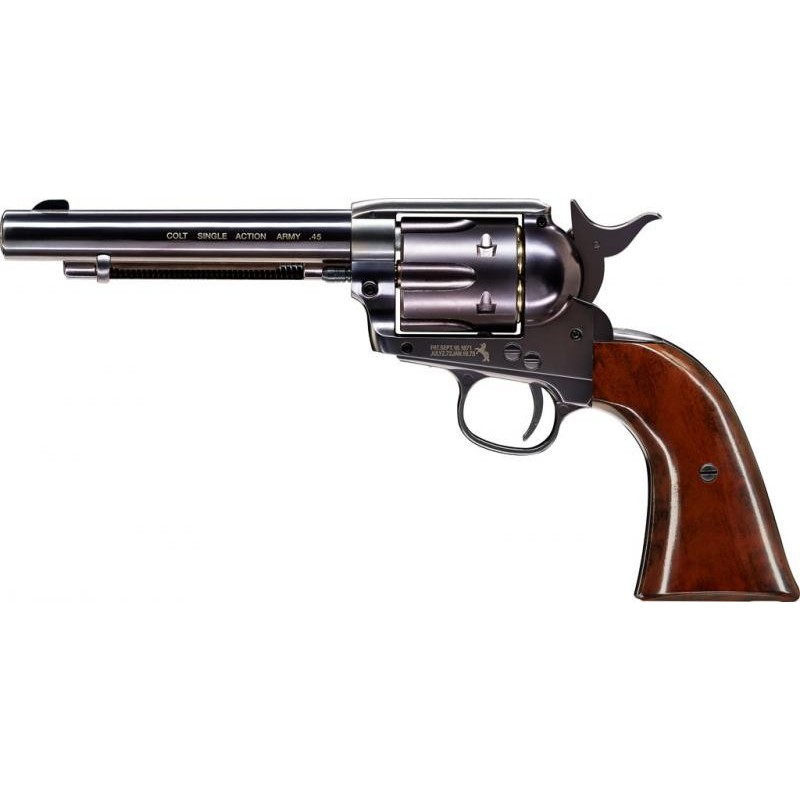 "REVOLVER CO2 DAN WESSON 715 6"" STEEL GREY 4,5 MM  18193"