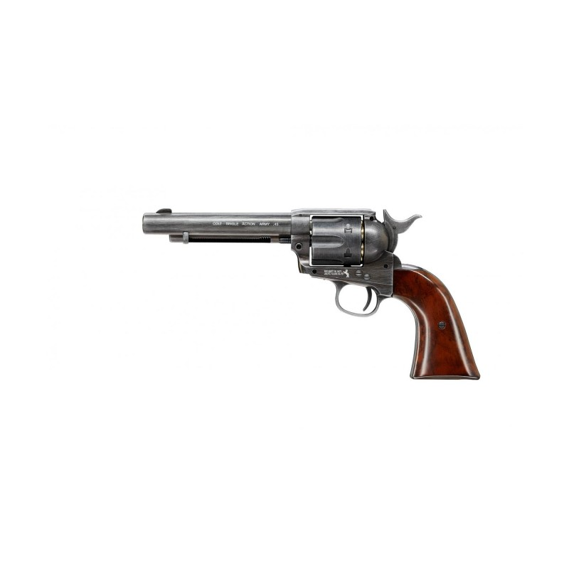 "REVOLVER CO2 DAN WESSON 715 2,5"" SILVER 4,5 MM  18615"